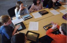 In classe con iPad