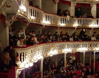 Luisa Conte e il Teatro Sannazaro